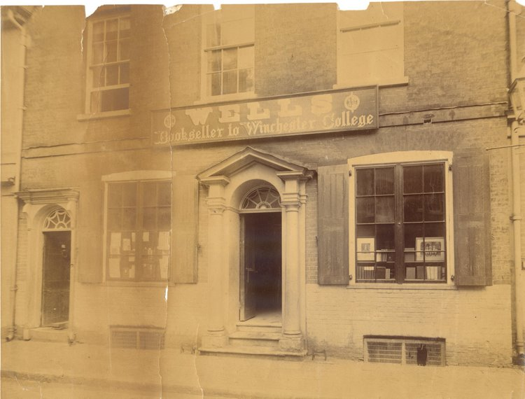 P &amp; G Wells Storefront (taken c1860)